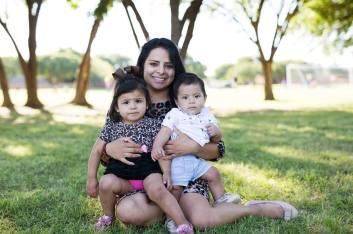 Jackie, Mayra, Jose YL Portrait