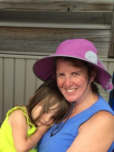 Caelyn, Aunt Maryann COW (2)